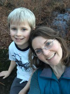 Melissa and her son